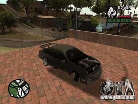 Ford Sierra Drift para GTA San Andreas left