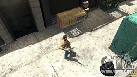 PSG1 (Heckler & Koch) para GTA 4 tercera pantalla