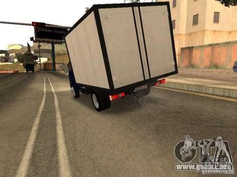 GAZ 3302-14 para la visión correcta GTA San Andreas