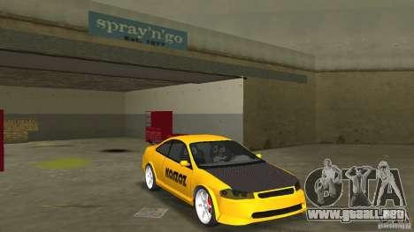 Honda Accord Coupe Tuning para GTA Vice City vista posterior