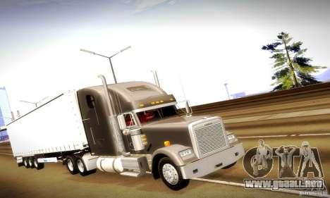 Freightliner Classic XL para GTA San Andreas left