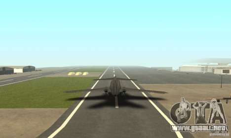 Boeing 727-100 American Airlines para GTA San Andreas left