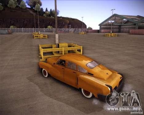 Walker Rocket para GTA San Andreas vista posterior izquierda