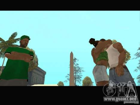 New Sweet, Smoke and Ryder v1.0 para GTA San Andreas novena de pantalla