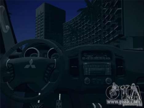 Mitsubishi Pajero para la vista superior GTA San Andreas