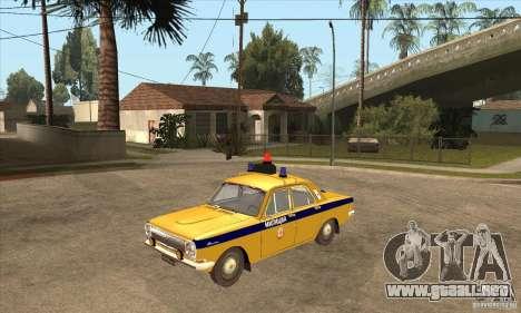 Policía 2401 Volga GAZ para GTA San Andreas