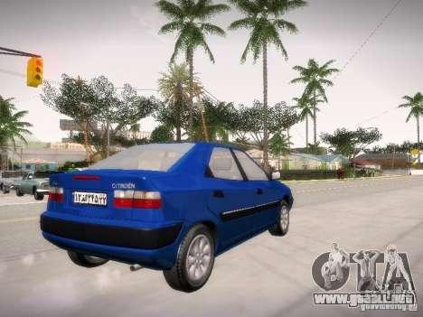 Citroën Xantia para la visión correcta GTA San Andreas