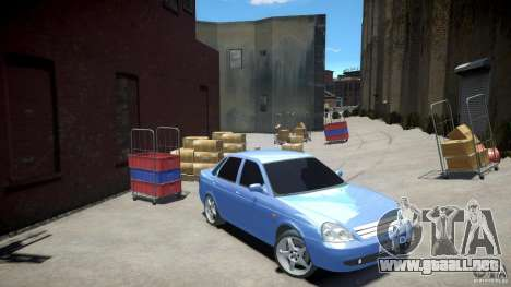 Lada Priora Light Tuning para GTA 4