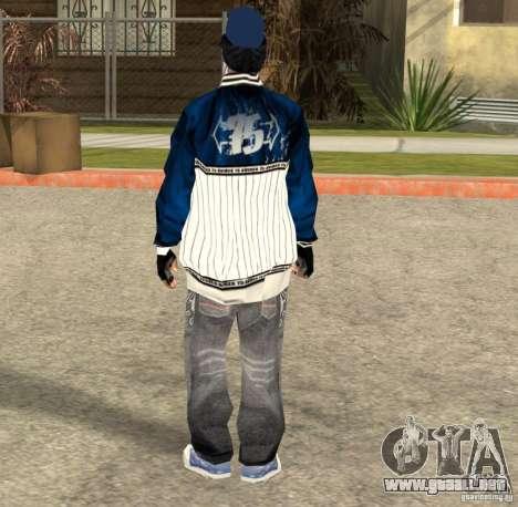 Compton Crips para GTA San Andreas segunda pantalla