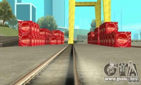 La fábrica de Coca-cola para GTA San Andreas segunda pantalla