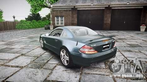 Mercedes Benz SL65 AMG V1.1 para GTA 4 Vista posterior izquierda