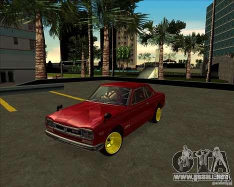 Nissan Skyline GTR 2000 para GTA San Andreas