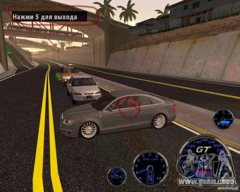 Crack para chulo mi auto para GTA San Andreas tercera pantalla