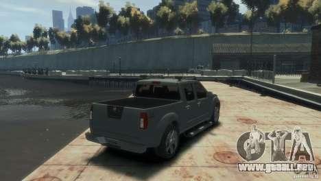 Nissan Frontier para GTA 4 left