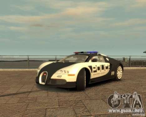 Bugatti Veyron Police [EPM] para GTA 4 visión correcta