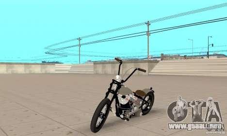 HD Shovelhead Chopper v2.1-cromo para GTA San Andreas