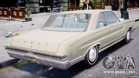 Ford Mercury Comet 1965 para GTA motor 4
