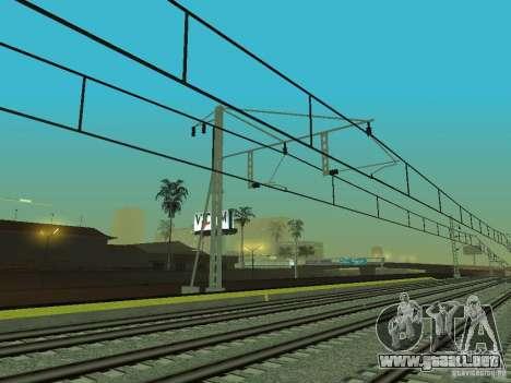 Línea ferroviaria de alta velocidad para GTA San Andreas novena de pantalla