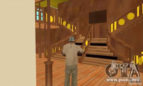 RMS Titanic para las ruedas de GTA San Andreas