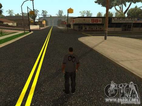 Nuevos caminos en Los Santos para GTA San Andreas segunda pantalla