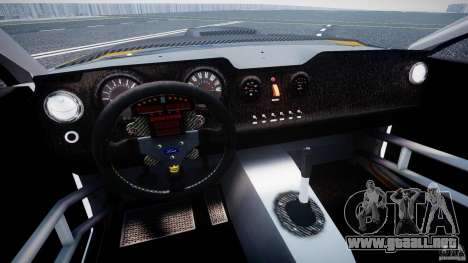 Ford Mustang GT-R para GTA 4 vista interior
