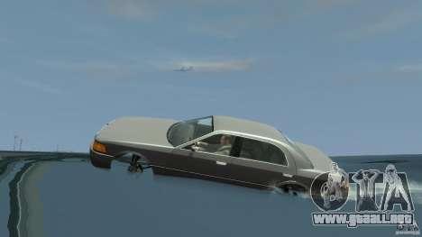 Admiral boat para GTA 4 vista hacia atrás