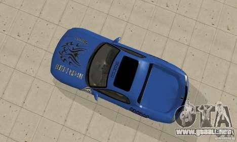 Mazda RX-7 Pickup para GTA San Andreas vista hacia atrás
