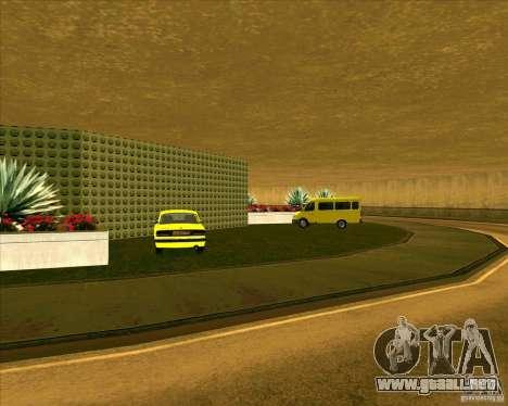 Priparkovanyj transporte v 3,0-Final para GTA San Andreas sucesivamente de pantalla