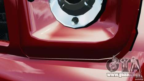 Mercedes-Benz G55 AMG para GTA 4 vista desde abajo