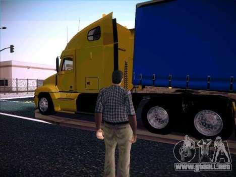 Freightliner Century Classic para GTA San Andreas left