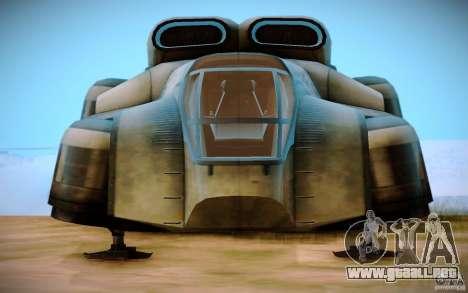 BTR-20 Yastreb para la visión correcta GTA San Andreas