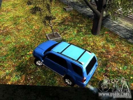 Toyota 4Runner 2009 para GTA San Andreas vista hacia atrás