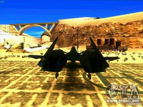 ADF-01 Falken para GTA San Andreas vista posterior izquierda