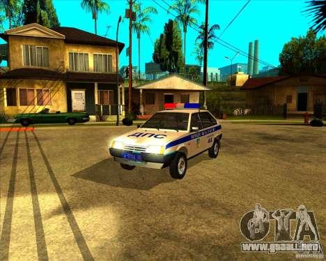 Vaz-2109 DPS para GTA San Andreas