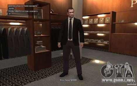 Chaquetas abiertas con lazos para GTA 4 tercera pantalla