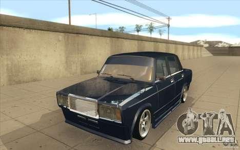 Lada VAZ-2107 calle Drift Tuned para GTA San Andreas
