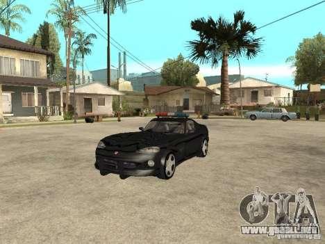 Dodge Viper Police para GTA San Andreas