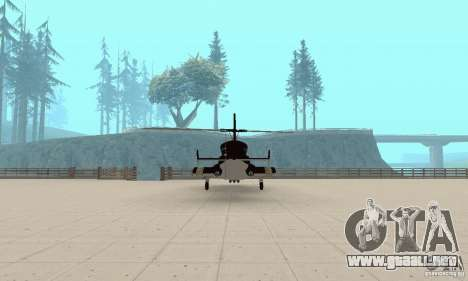 Airwolf para visión interna GTA San Andreas