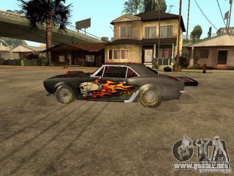 Chevrolet Camaro SS Dragger para GTA San Andreas left
