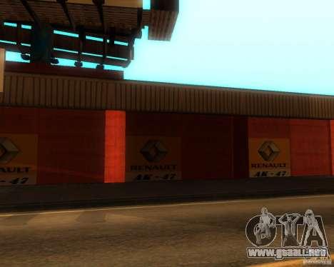 New Garage Painting para GTA San Andreas segunda pantalla