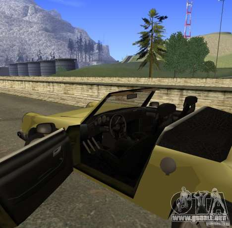 New Comet para visión interna GTA San Andreas