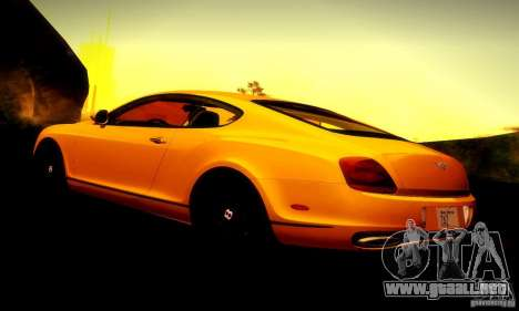 Bentley Continental Supersports para el motor de GTA San Andreas