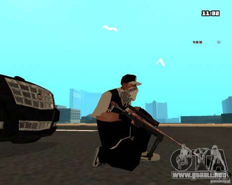 Weapon Pack para GTA San Andreas quinta pantalla