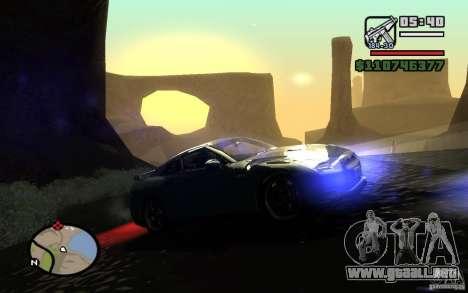 ENBSeries By Gasilovo para GTA San Andreas tercera pantalla