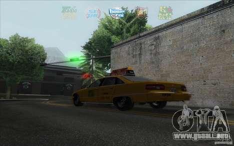Radio Hud IV para GTA San Andreas tercera pantalla