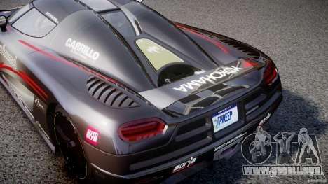 Koenigsegg Agera v1.0 [EPM] para GTA 4 vista interior