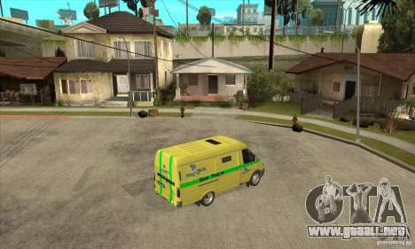 Gacela coleccionista para la visión correcta GTA San Andreas