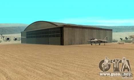 Guerra del aire para GTA San Andreas undécima de pantalla