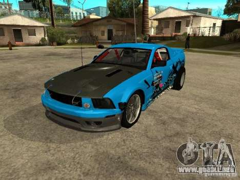 Ford Mustang Drag King para GTA San Andreas