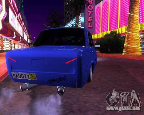 VAZ 2101 Drift Car para la visión correcta GTA San Andreas